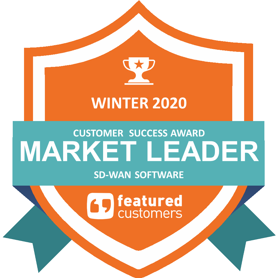 Leader in the winter 2020 SD-WAN