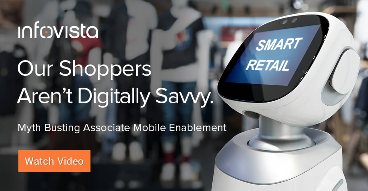 Our shoppers aren't digitally savvy.