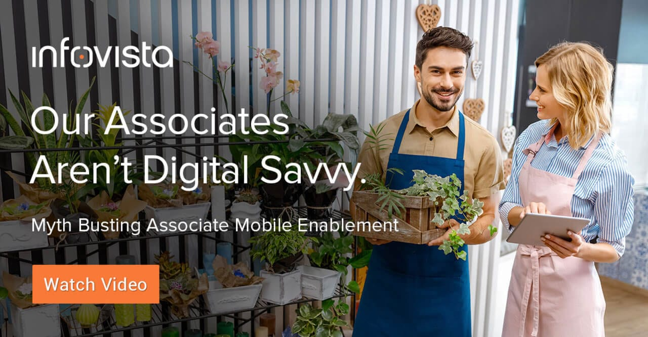 Our associates aren't digital savvy