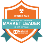 Leader in the Winter 2020 SD-WAN Customer Success Report