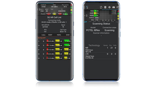 TEMS Pocket 5G devices