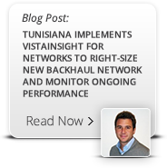 Tunisiana Implements Vistainsight for networks